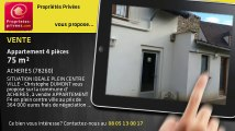 A vendre - appartement - ACHERES (78260) - 4 pièces - 75m²