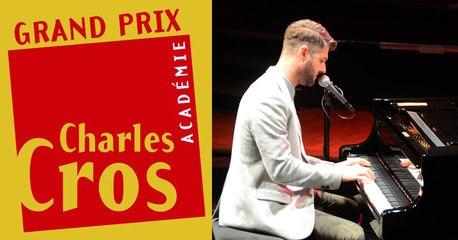 Pierre Lapointe- Grand Prix scène de l'Académie Charles Cros 2014