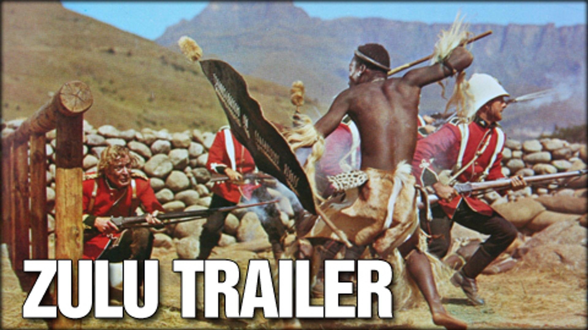 Zulu (1964) - Stanley Baker, Jack Hawkins, Ulla Jacobsson - Trailer (Drama, History, War)