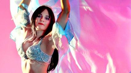 "Classic bellydance veil choreography with Tanna Valentine ""Bir Dimet"""