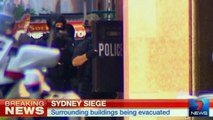 Suspected terrorist takes hostages in Sydney cafe