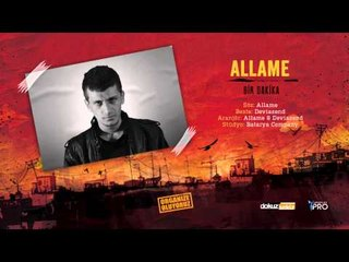 Allame - Bir Dakika (Official Audio)