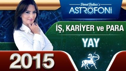 YAY Burcu İŞ,PARA ve KARİYER 2015 astroloji, burç yorumu
