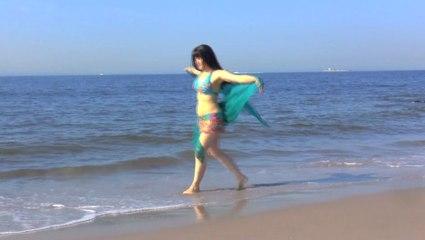 "Tanna Valentine - belly dance - ""Message in a bottle"" - music video"