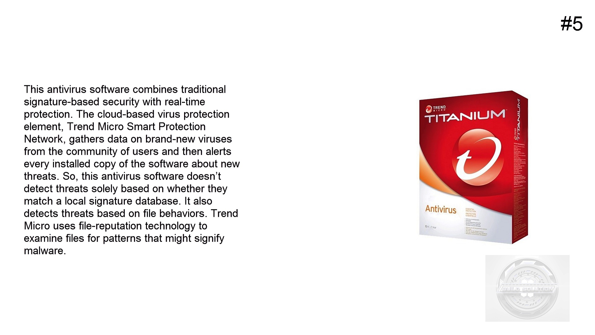 Top 5 Best Antivirus Software For 2015