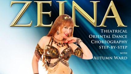 """""""Zeina"""" Oriental Dance Choreography by Autumn Ward - Trailer - belly dance"""
