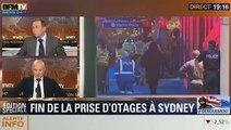 19H Ruth Elkrief: Retour sur la prise d'otages à Sydney avec Jean-Charles Brisard, Dominique Rizet, Laurent Combalbert et Alain Bauer (1/2) - 15/12