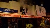 Restoran İşçilerinin Kaldığı Lojmanda Çıkan Yangın
