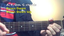 """""""I Know Places"""" Taylor Swift   Complete GUITAR TUTORIAL (Guitar Lesson) EASY Chords"""