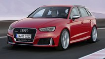 Audi RS3 Sportsback Unveiled !