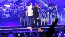 Beyoncé et Taylor Swift dansent au concert de Justin Timberlake & Jay Z - Holy Grail (Live at Barclays Center)