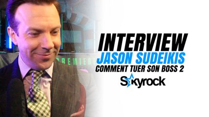 Interview Red Carpet de Jason Sudeikis - Comment tuer son boss 2 ?