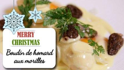 Boudin de homard aux morilles - Recette de Noël