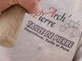 Arch'Pierre à Lagord, tailleur de pierre.