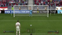 Rodzinne granie ja vs tata Fifa15 na PlayStation 4