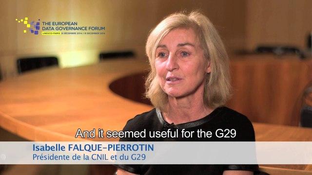"""""""L'année 2015 va être cruciale pour la protection des données personnelles""""  - Isabelle Falque-Pierrotin (CNIL - G29)"""