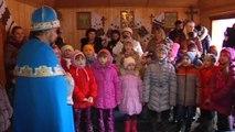 Ukraine's children want St. Nicholas to bring peace for Christmas