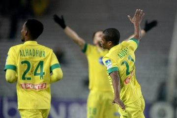 FC Nantes vs FC Metz 8e de Coupe de la Ligue 2014/2015