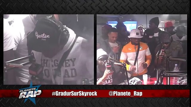Gradur Feat. Cahipps E.T en live dans Planète Rap !