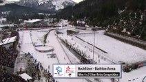 Relais H biathlon, Hochfilzen, décembre 2014 (France 2e)