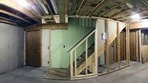 Rénovation du sous-sol en 60 secondes