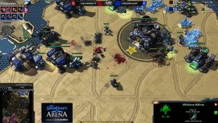 Snute (Z) vs. Bunny (T) - MyStarCraft Arena #2 powered by Dailymotion StarCraft II Heart of the Swarm