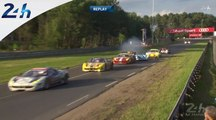 24 HEURES DU MANS 2014 - RACE HIGHLIGHTS - From 5pm to 7pm
