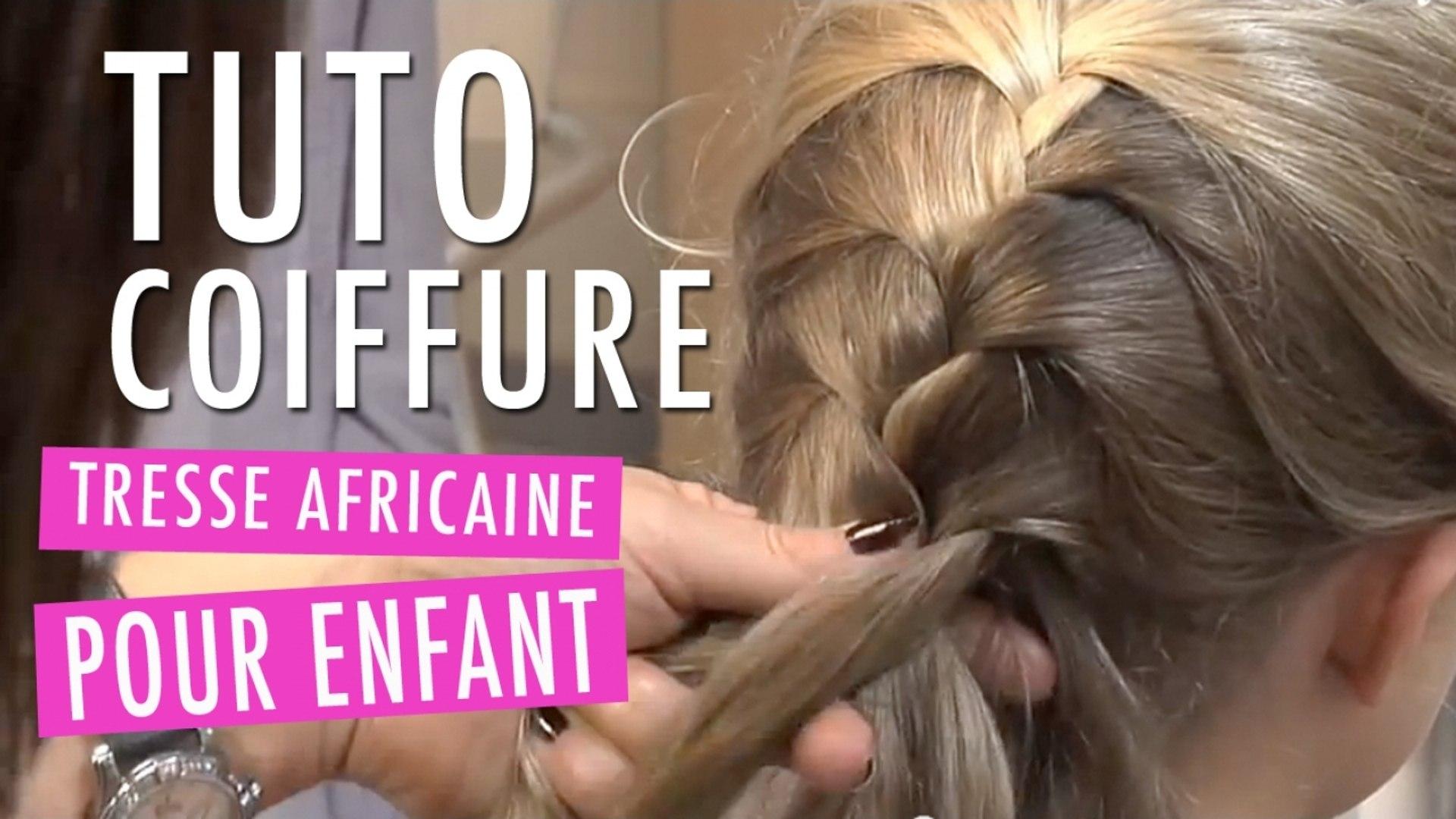 Tresse Africaine Tuto Coiffure Enfant Video Dailymotion