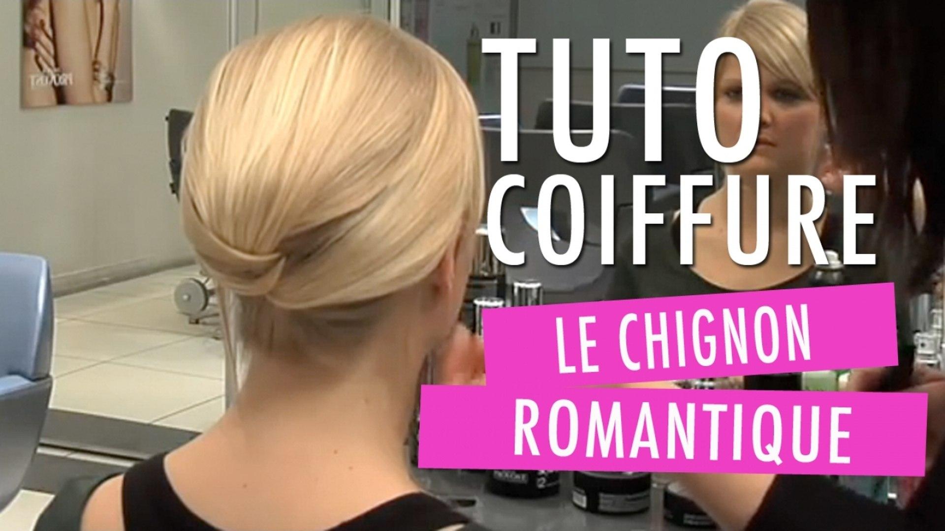 Chignon Romantique Tuto Coiffure Video Dailymotion