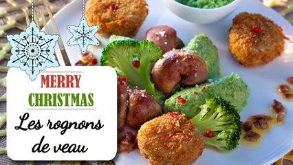 Rognons de veau et croustillants de sole - Recette Noël