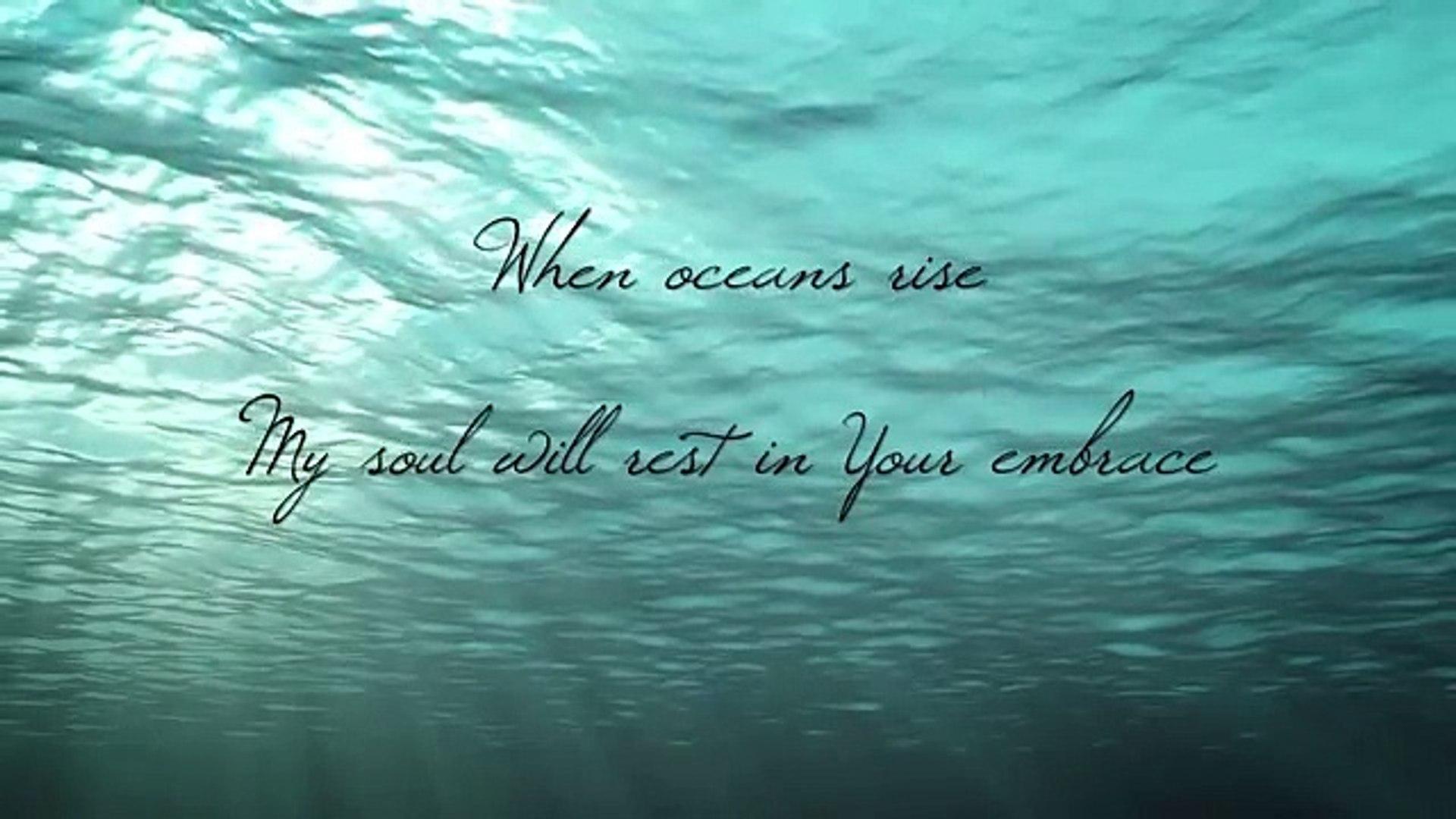 Oceans (Where Feet May Fail) - Piano Instrumental with Lyrics