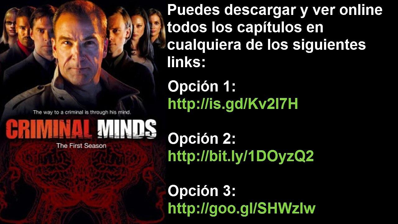 Mega Criminal Minds Mentes Criminales Temporada 1 A La 11 Español Latino Vídeo Dailymotion