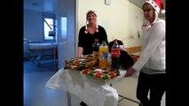 On a fêté Noël au Centre hospitalier Annecy Genevois