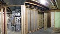 Rénovation d'un sous-sol en 60 secondes