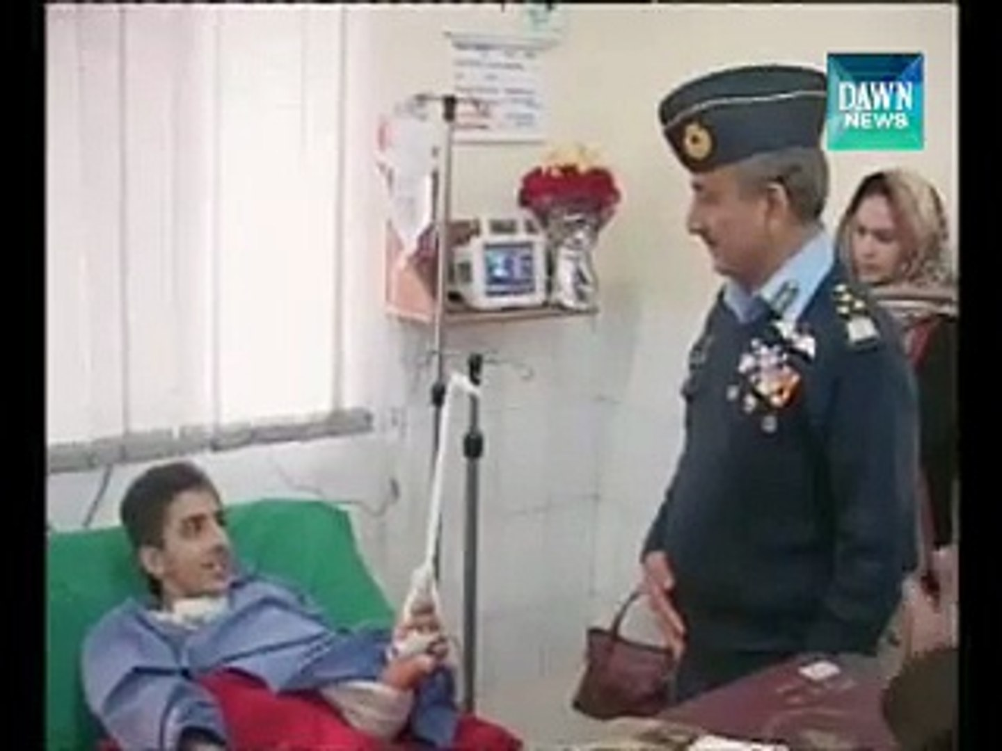 PM, Army Chief visit wounded persons at CMH Hospital