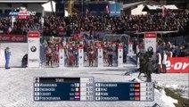 Poursuite F biathlon, Hochfilzen, décembre 2014 (podium Anaïs Bescond)