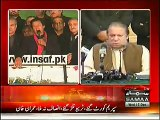 BREAKING NEWS PTI Chairman Imran Khan Announces to End Protest  18-12-2014