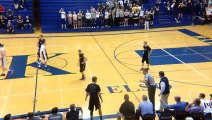 Crazy Basketball shots : a player scored two half-court buzzer-beaters in same game