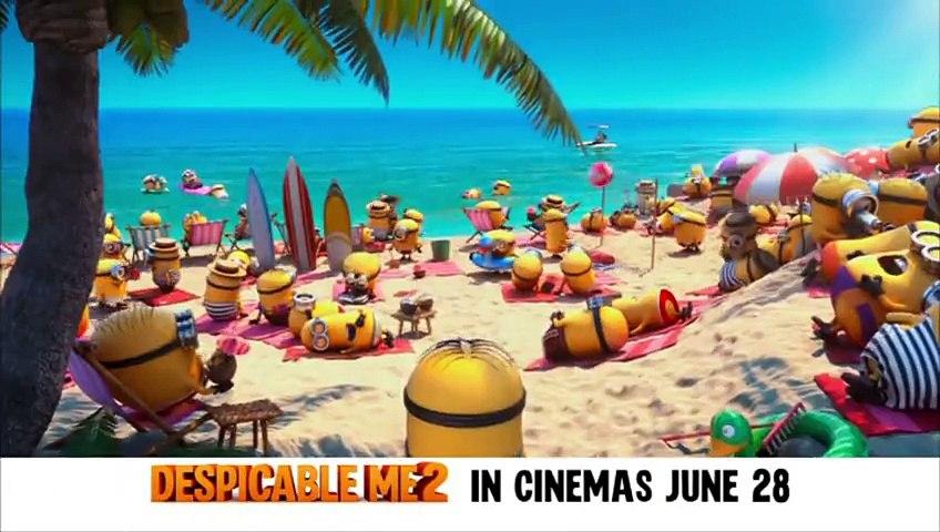 Despicable Me 2_ Paradise Minions trailer