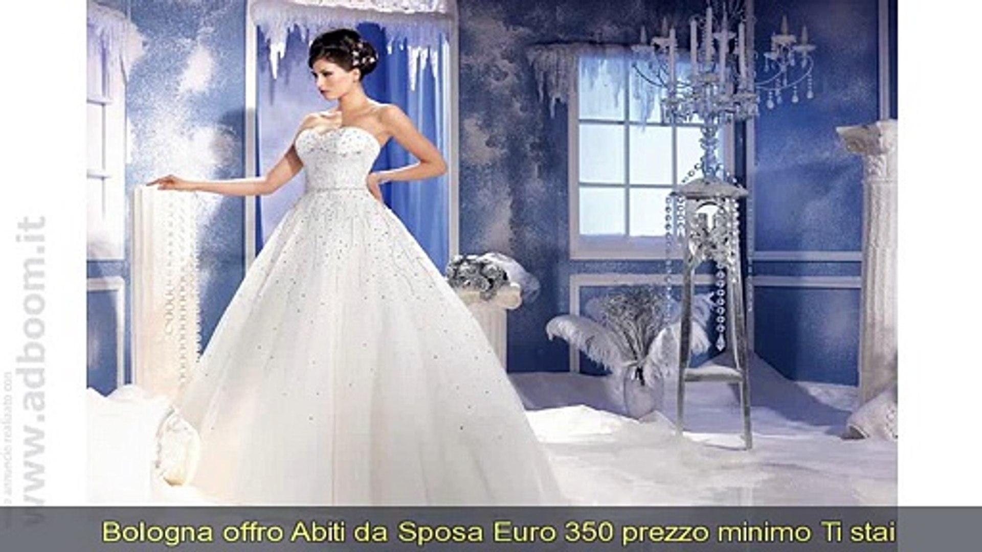 Abito Da Sposa 350 Euro.Bologna Crevalcore Abiti Da Sposa Euro 350 Video Dailymotion