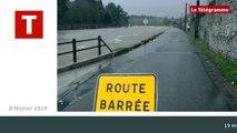 Hennebont / Inzinzac-Lochrist. Les inondations 2014 en moins de 2 minutes