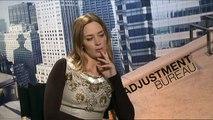 Emily Blunt Interview for The Adjustment Bureau