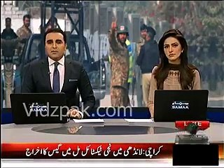 Practice Session held in Sialkot school to get prepared for any terrorist activity
