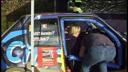 Téléthon 2014 : Tartiflette et baptême en voiture de rallye à Auchy-les-Hesdin (62)