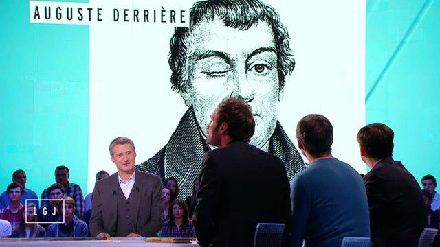 Auguste Derrière sur Canal +