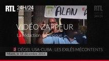 Les exilés cubains protestent contre le dégel des relations avec les USA à Miami