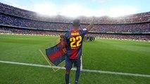 Comiat del Camp Nou a Eric Abidal