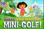 Dora's Star Mountain Mini Golf Game cartoons   Dora la Exploradora     baby games jeux de filles CKV