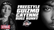 Freestyle de Guizmo avec Cayene et Bugz Bunny en live dans Planète Rap