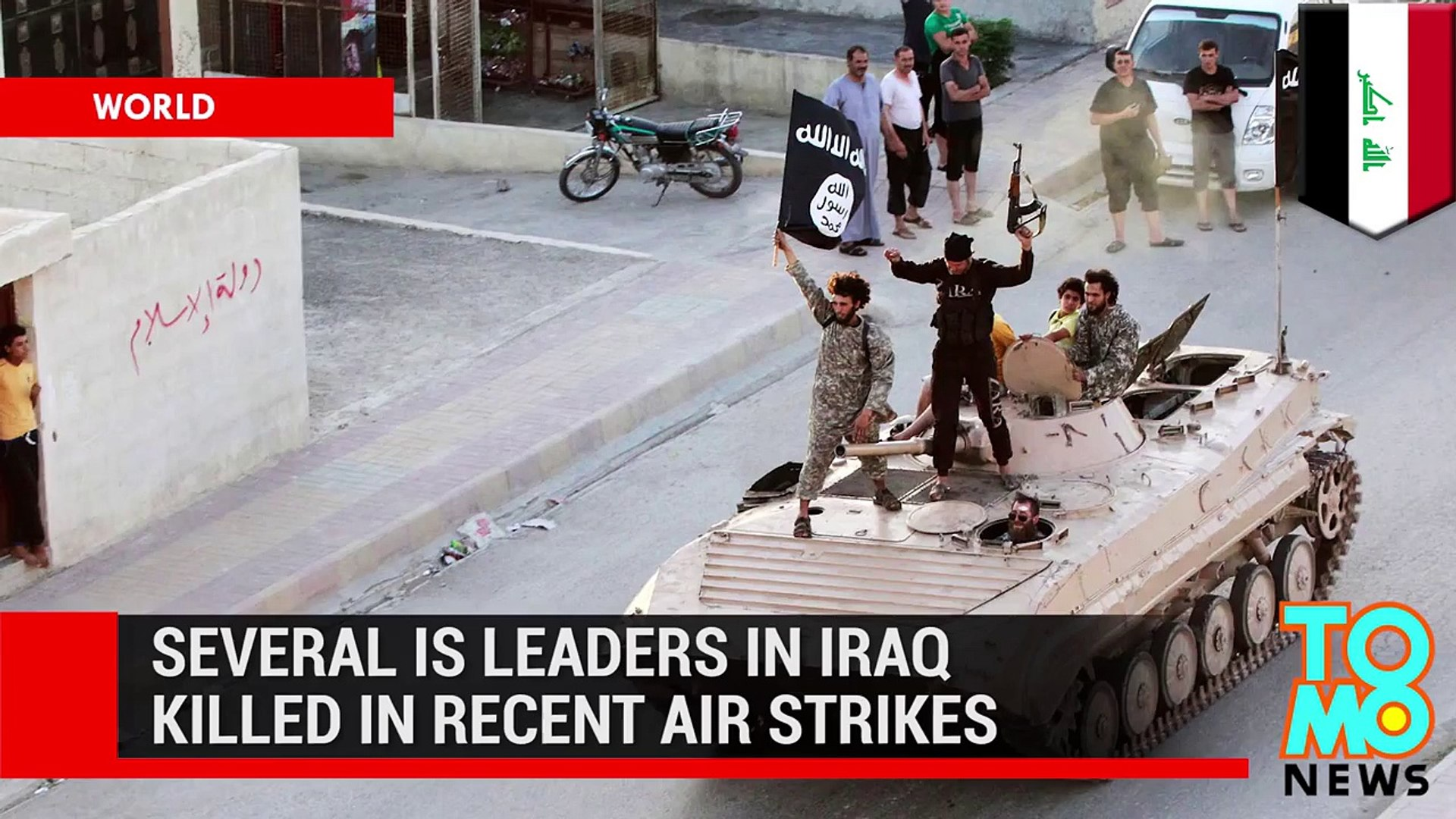 Islamic State struggling US-led air strikes take out several of group's top leaders in Iraq.